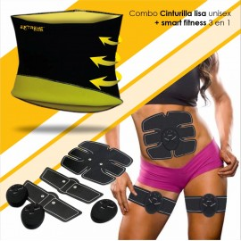 Smart Combo: Cinturilla Lisa Unisex + Smart Fitness 3 en 1